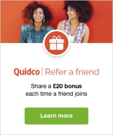 quidco refer a friend offer